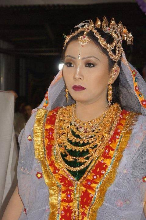 A bride in all it's splendor.