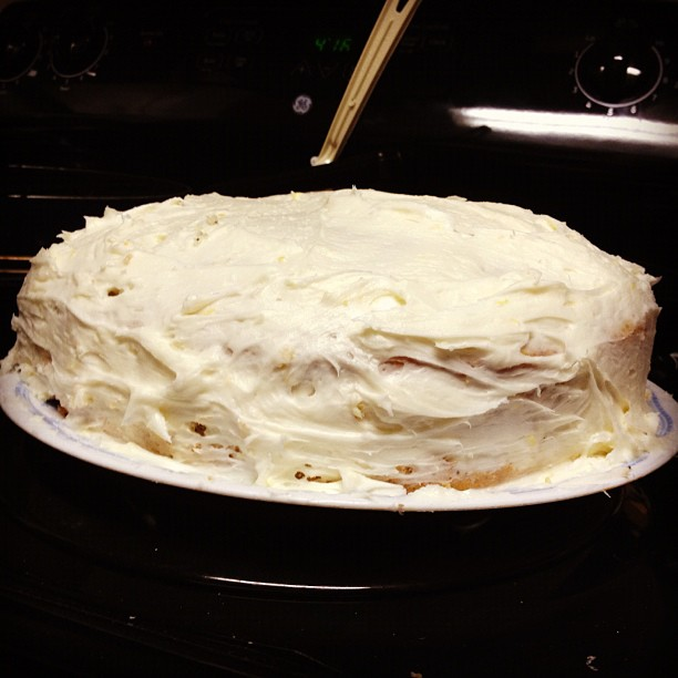 Lemon Poppyseed Layer Cake   finding time for cooking blog