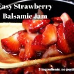 Anyone who says it's hard is lying (Balsamic Strawberry Jam without Pectin)