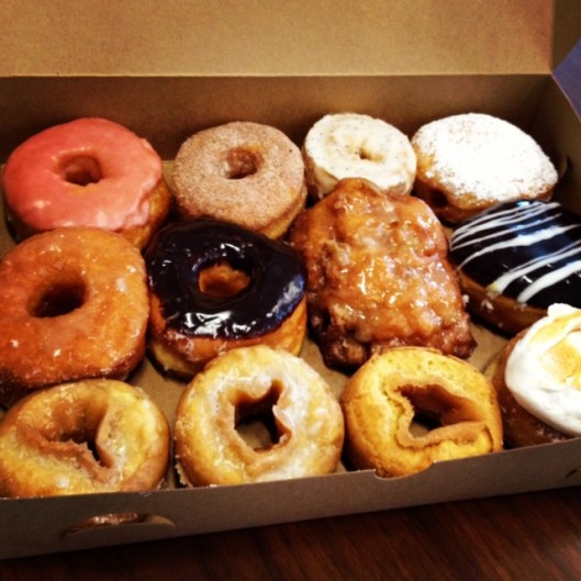 Doughnut sampler...mmm!