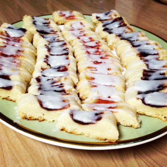 jam diagonals finished platter