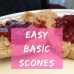 "Go-To Easy ""Fancy"" Breakfast (Basic Scones)"