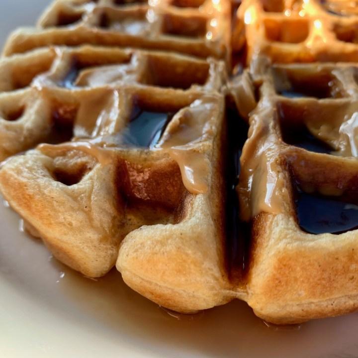 Brunch Staple:  Easy Buttermilk Belgian Waffles