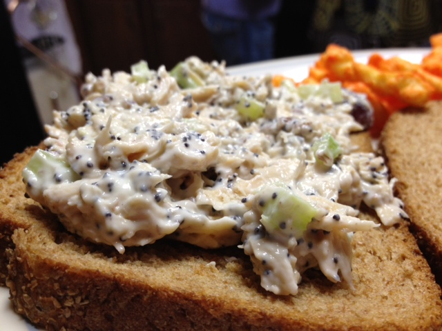 Aunt Tina's Chicken Salad, the best chicken salad recipe ever | finding time for cooking blog
