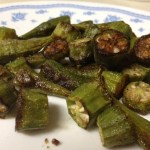 Oven-Roasted Okra (possibly better than fried…sacrilege in the South)