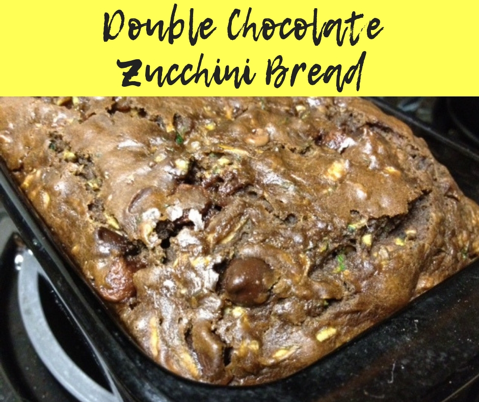Double Chocolate Zucchini Bread   easy, delicious, and healthy zucchini bread with chocolate #zucchinibread #chocolate #bread #healthydesserts #breakfast