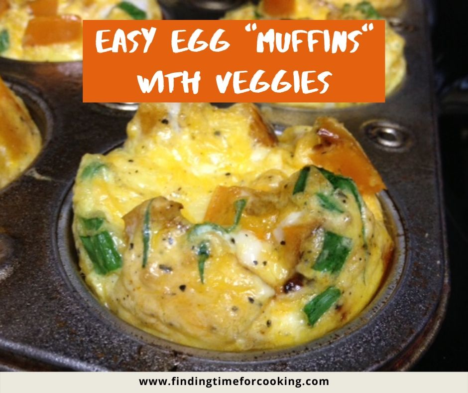 Easy Egg Muffin Cups with Veggies | A super easy & delicious make-ahead healthy breakfast for work or school mornings. #breakfast #healthy #makeahead #mealprep