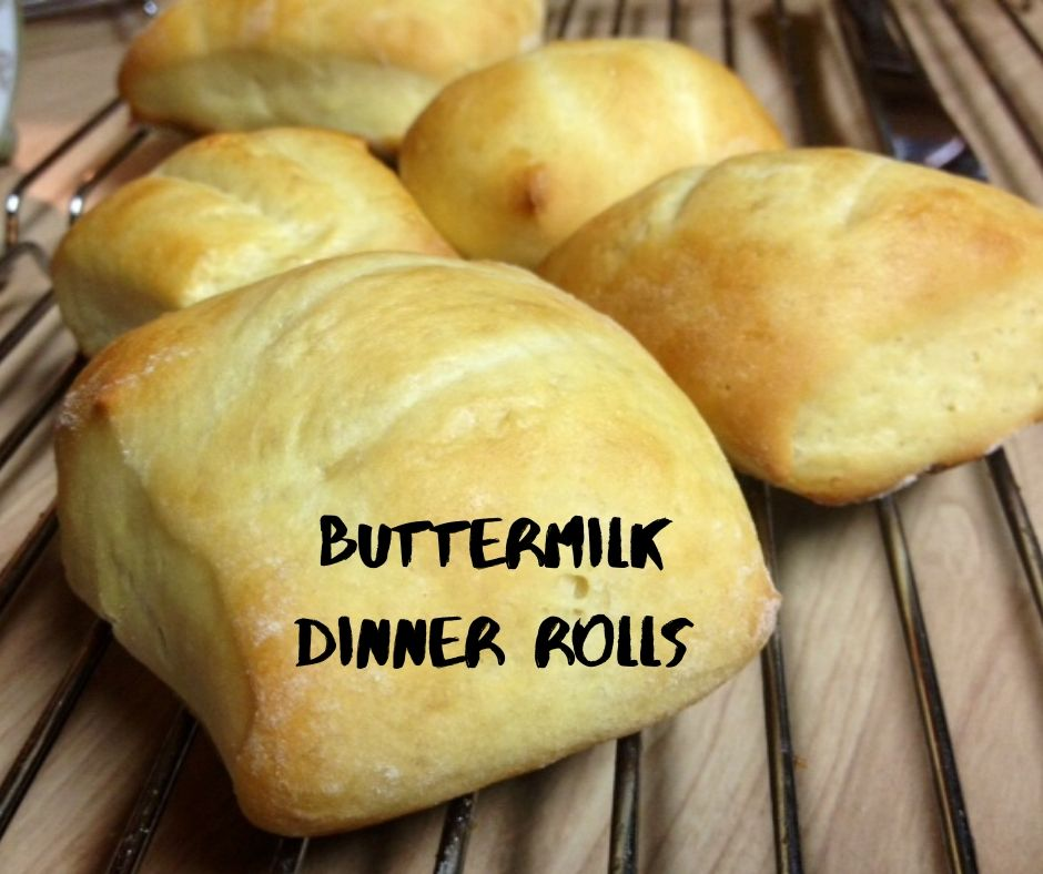 Buttermilk Dinner Rolls | This easy bread roll recipe is perfect for any type of dinner or holiday gathering...versatile and could use added flavors as well (herbs, garlic, etc.). #breadrecipes