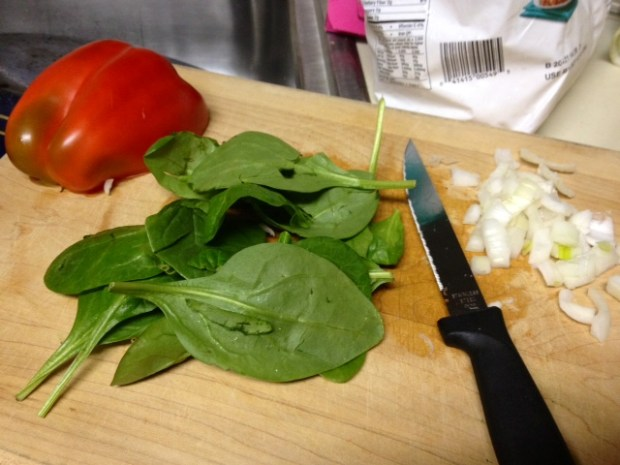 crockpot breakfast casserole spinach