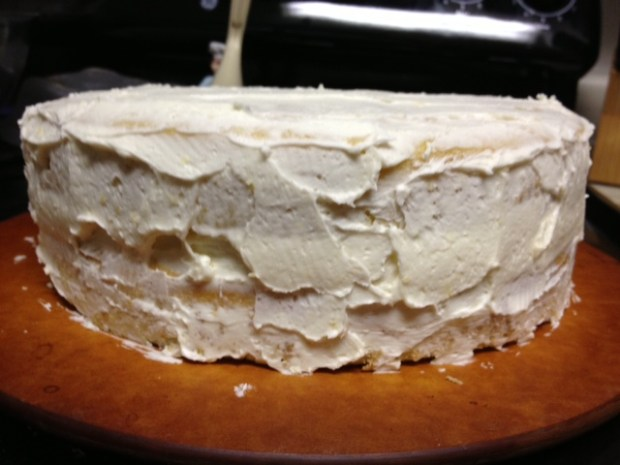 citrus marmalade cake frosting