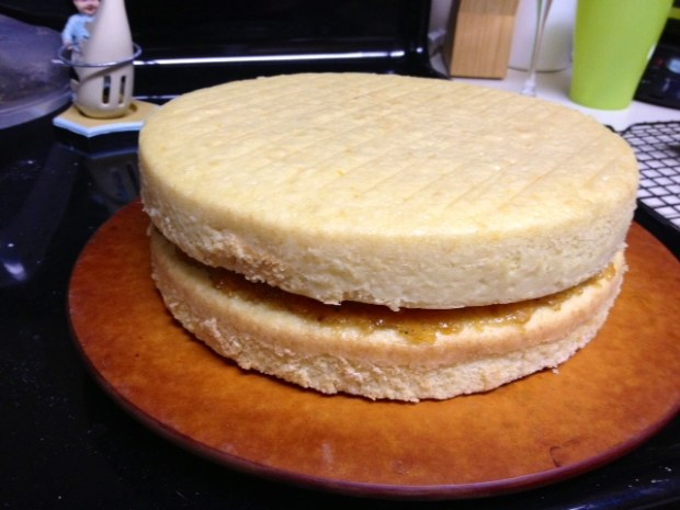 citrus marmalade cake marmalade filling layers