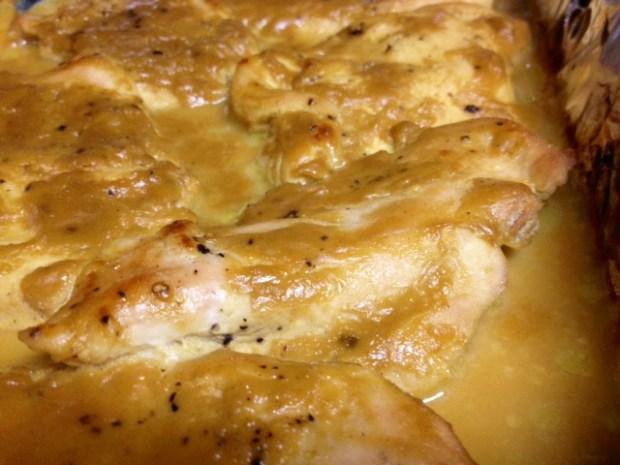 man pleasing chicken finished closeup2