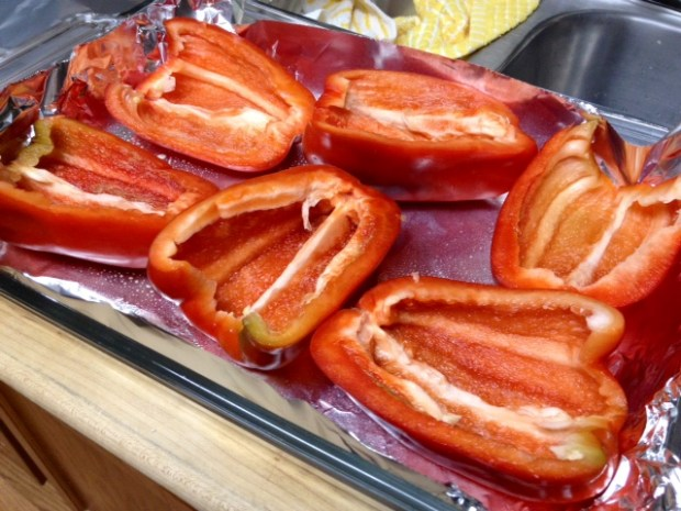 stuffed peppers pepper halves