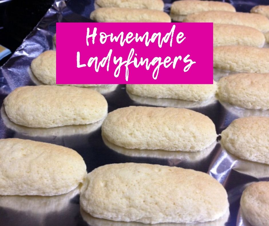 Homemade Ladyfingers | If you're trying to make tiramisu, or just want to get a little fancy, these ladyfingers are surprisingly easy to make! #tiramisu #ladyfingers #frenchrecipes