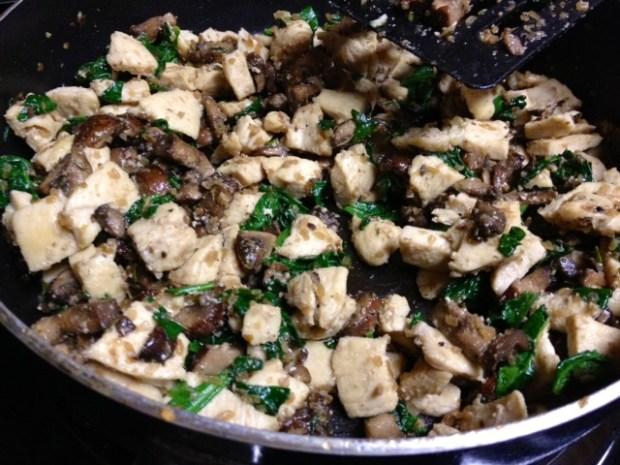 rosemary chicken lasagna mushrooms spinach2