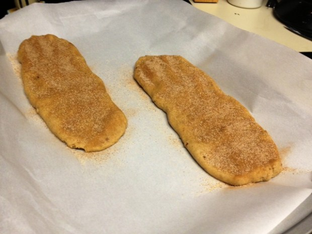 snickerdoodle biscotti dough logs2
