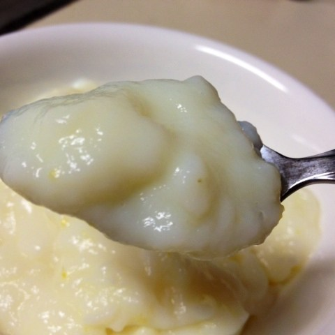 Healthy Lemon Cornstarch Pudding