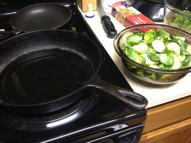 brussel sprouts cranberries brussels sprouts pan