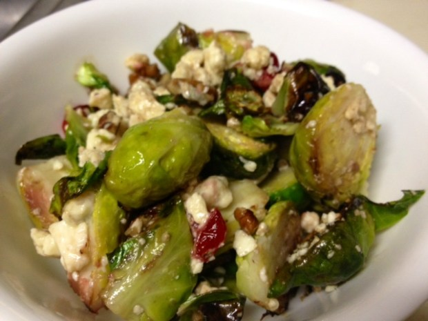 brussel sprouts cranberries finished2