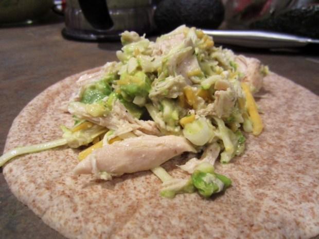 chicken avocado enchiladas tortilla filling
