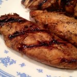 Grilled Balsamic Chicken…on my own grill!