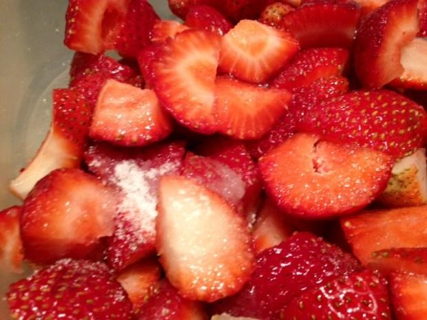 brown sugar oat strawberry shortcake strawberries sugar