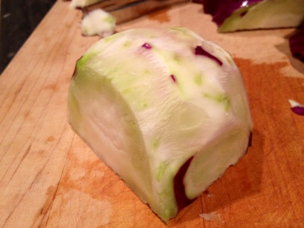 kohlrabi fries whole peeled