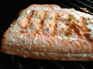 maple citrus salmon grilled