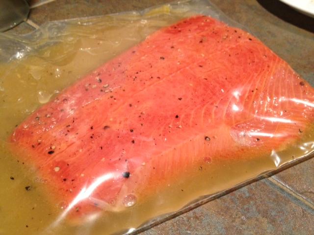easy salmon marinade