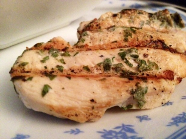 fresh herb grilled chicken