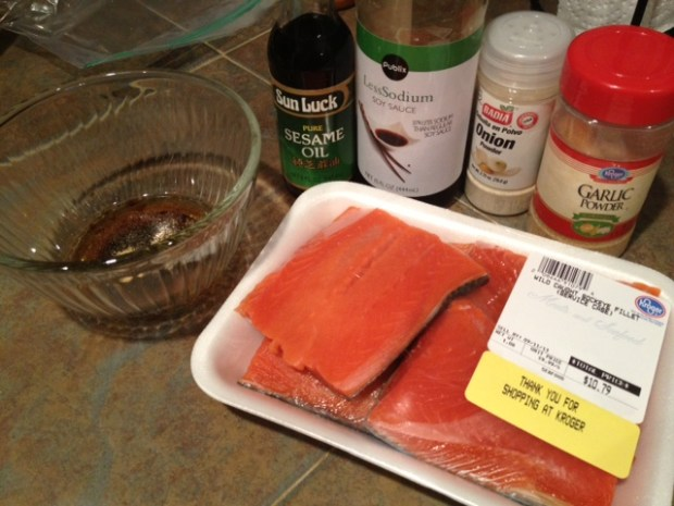 soy glazed grilled salmon ingredients