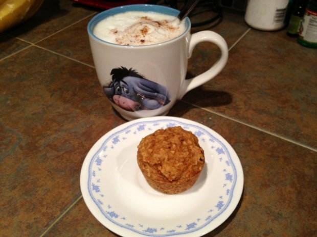 morning glory muffins finished