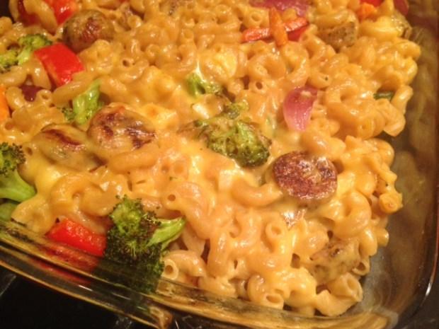 Roasted Vegetable Mac & Cheese