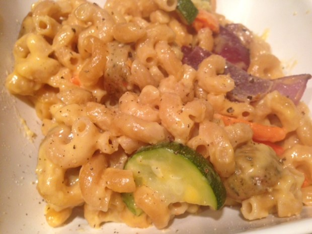 Roasted Veggie Mac & Cheese