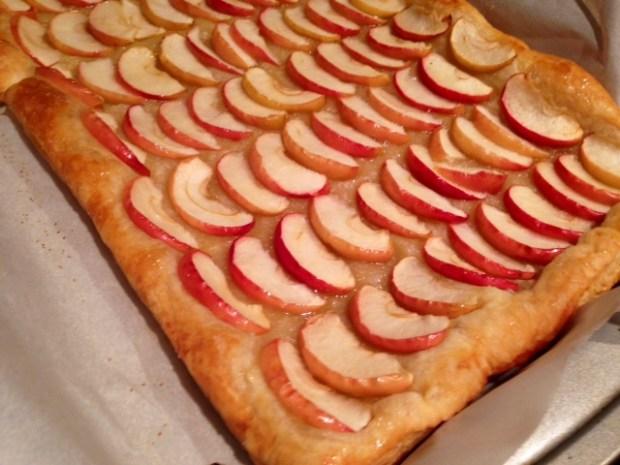 Honey Apple Tarte