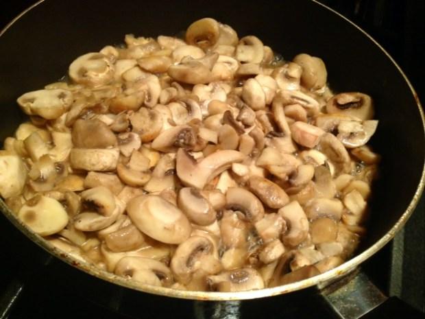 julia childs boeuf bourguignon mushrooms cooking