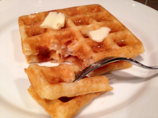 Overnight Raised Yeast Waffles