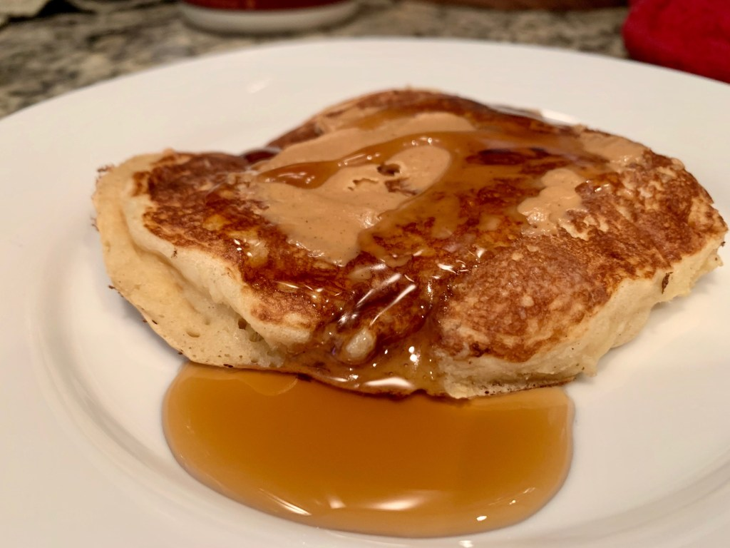 easy buttermilk pancakes, takes just 15 minutes