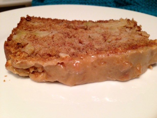 Caramel-Glazed Apple Bread