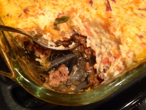 Shepherds Pie with Carrot Goat Cheese Mash finished2