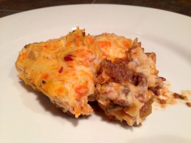 Shepherds Pie with Carrot Goat Cheese Mash piece
