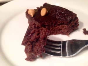 Black Bean Brownies made with honey