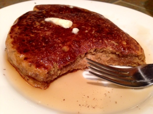 Coffee Pancakes finished