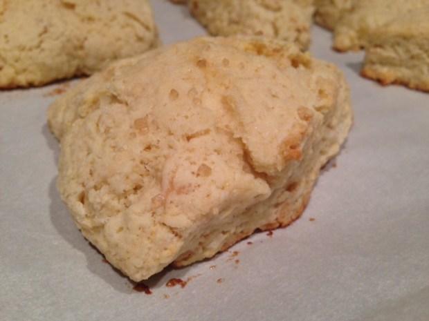 Dreamy Creamy Scones baked
