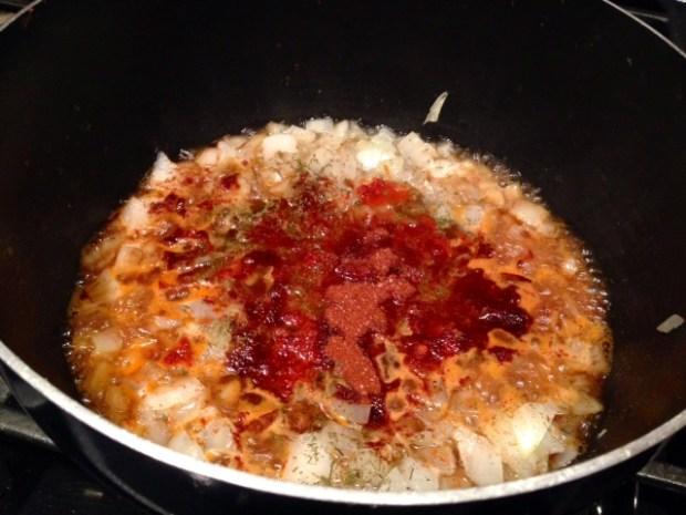 hungarian mushroom soup paprika