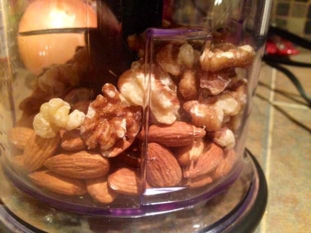 quinoa nut maple granola nuts