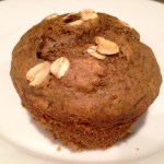 Chocolate Chip Oatmeal Flaxseed Muffins