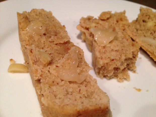 Unleaved Almond Bread with Honey