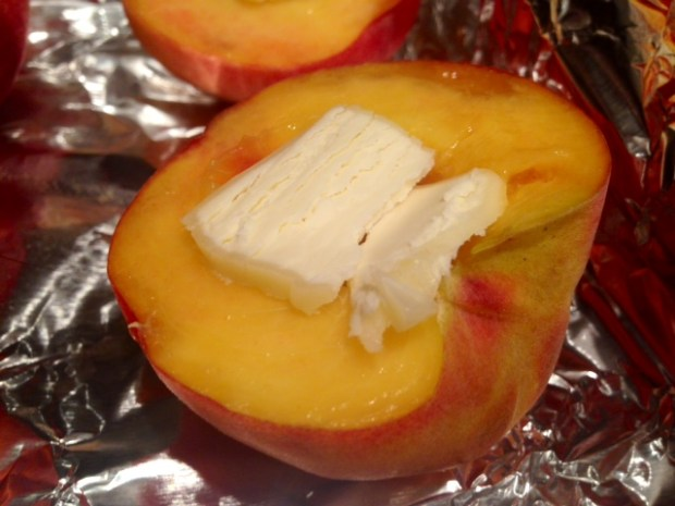 honey roasted peaches butter