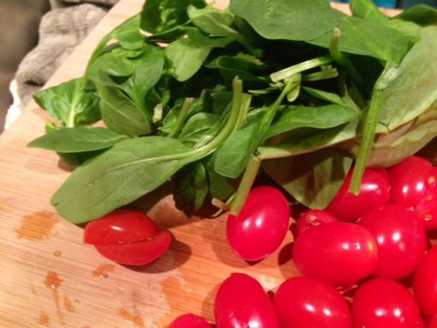 ricotta tomato & spinach frittata tomatoes spinach cut